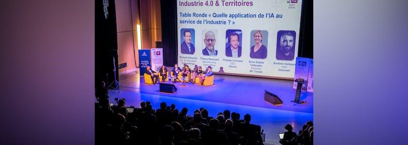 Industrie 4.0 et territoires table ronde