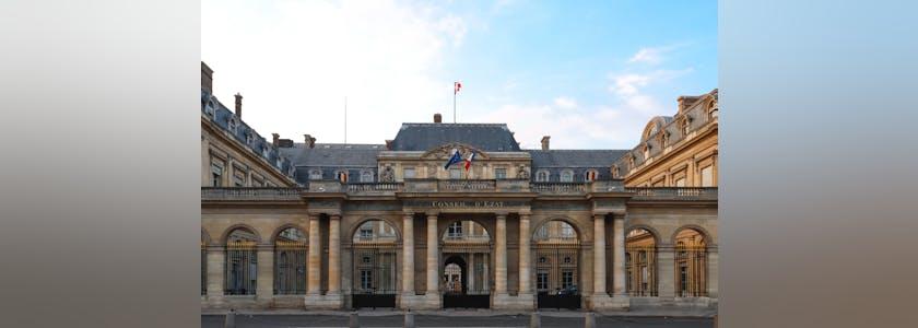 façade du conseil d'Etat