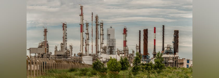 Panorama d'usines