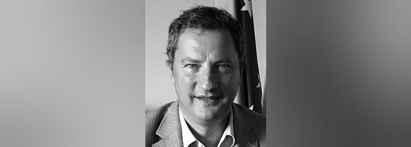 Portrait de Baudoin Baudru, le chef de la représentation en France de la Commission européenne
