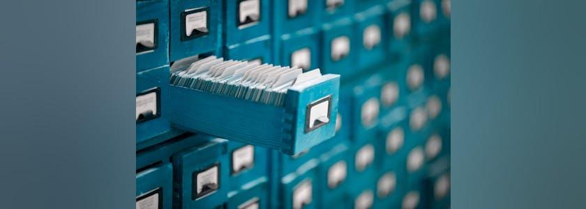 Rangements de fichiers ouvert
