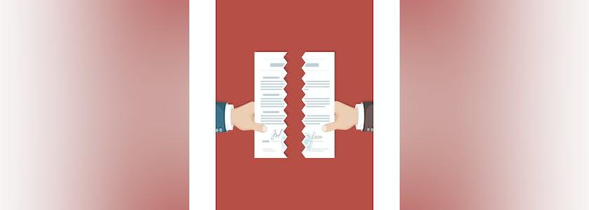 Rupture contrat