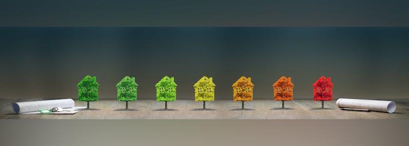 immobilier maison écologie Image conceptuelle