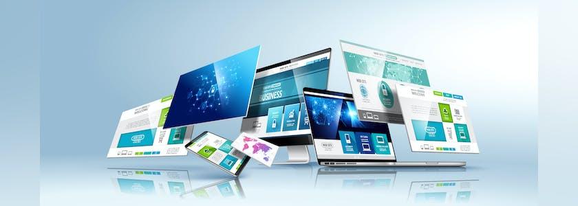 Représentation conceptuelle de logiciel par des ordinateurs, Ipad, tablettes