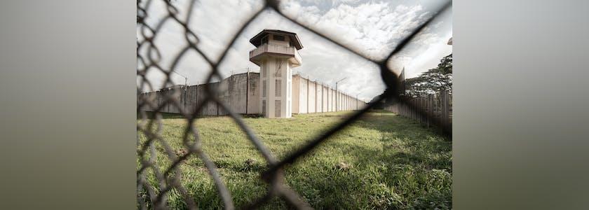 Extérieur de prison